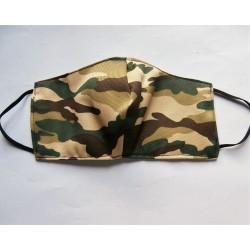 Mondkapje camouflage  3/6 jaar