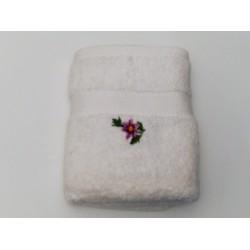 Handdoek met bloem