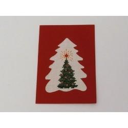 Carte de Noël arbre